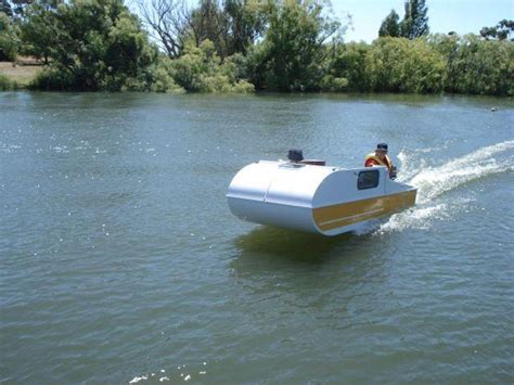Mini Most Boat Build by When You See This Tiny Diy Boat Cer You Ll It