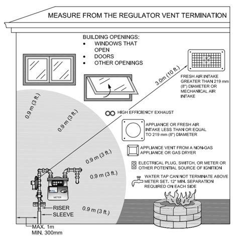 propane tankless water heater gas meter clearances chimney cleaning repair