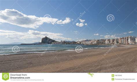 port et plage d aguilas photo stock image 18079340