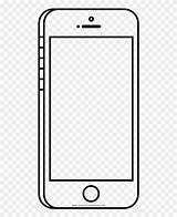 Coloring Cell Pages Clipart Phone Outline Ultra Frieze Framing Pinclipart Middle sketch template