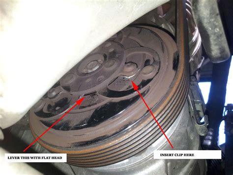 question  ac compressor shim fix page