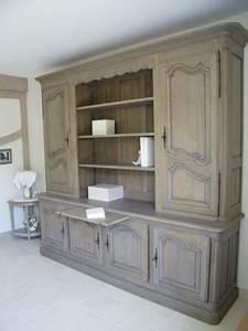 renovation meuble cuisine en chene 2 paris oise With renovation meuble en chene