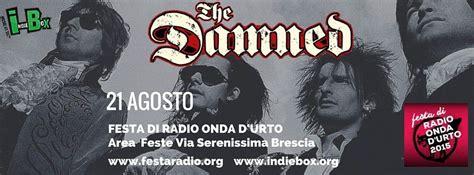 THE DAMNED: unica data italiana a Brescia - Punkadeka ...