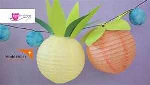 Lampions Selber Basteln : fruchtlaternen obst lampions selber basteln diy eule youtube ~ Watch28wear.com Haus und Dekorationen
