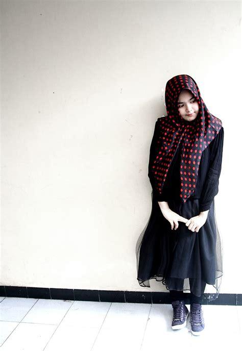 firda fitria gothic hijab lookbook