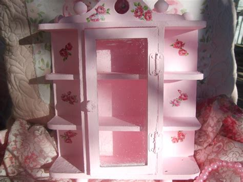 pink shabby chic furniture pink vintage shabby chic furniture shabby chic pink vintage dollhouse miniature curio cabinet