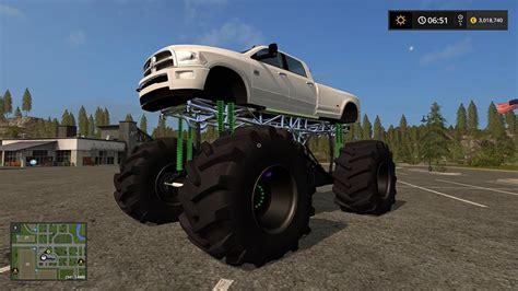 dodge mud truck dodge mud truck lifted v 1 0 ls2017 com
