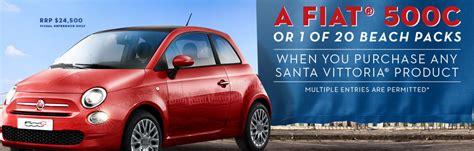 Santa Fiat by Santa Vittoria Competition Win A Fiat 500c At
