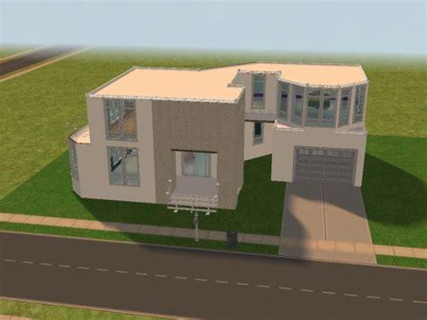 maison moderne pommekiwi s sims