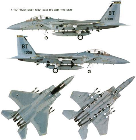 Boeing Usaf F-15 Eagle Fighter Jet Aircraft Information