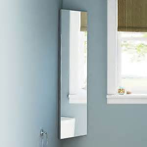 1200 x 300 corner mirror cabinet wall hung bathroom