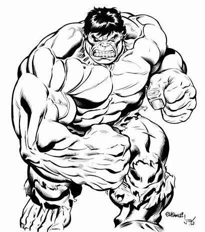 Hulk Drawing Ed Mcguinness Marvel Incredible Deviantart