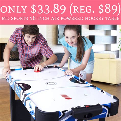 black friday deals on air hockey tables only 33 89 regular 89 md sports 48 inch air powered