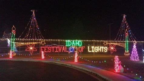 christmas light displays  idaho