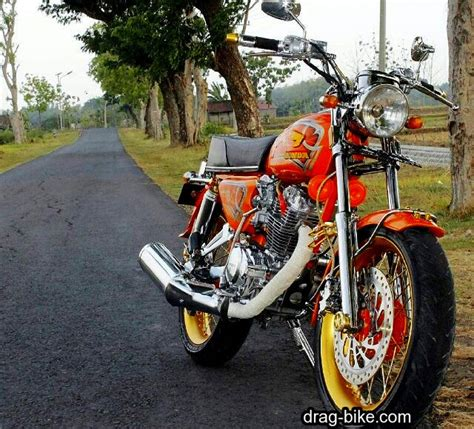 Foto Model Cb by 51 Foto Gambar Modifikasi Motor Cb 100 Terbaik Kontes Drag