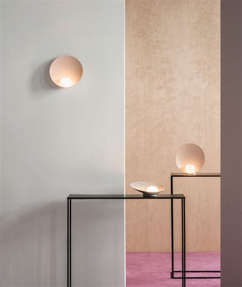 vibia stories behind the making of musa wall and table ls