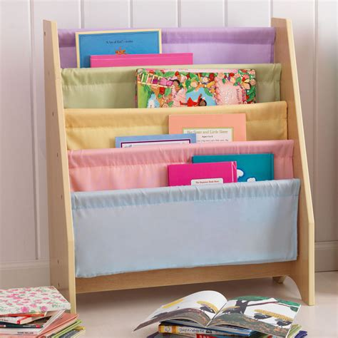 Childrens Bookcase Sling by Sling Bookshelf By Kidkraft Primary Or Pastel