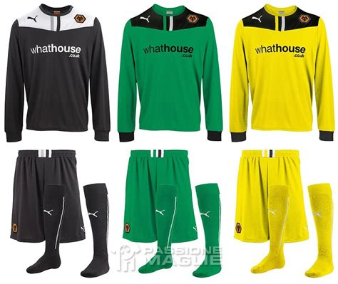 Divisa Portiere by Le Maglie Wolverhton 2013 2014 Nuovo Sponsor