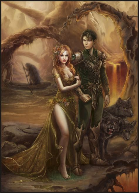 hades and persephone on underworld deviantart and of