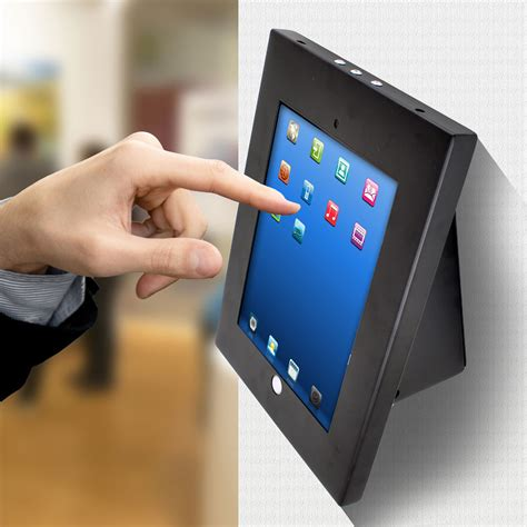ipad kiosk table mount pylehome pspadlkw5 home and office mounts stands