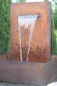 Wasserfall Pumpe Berechnen : wasserspiel cortenstahl edel rost brunnen wasserfall inkl pumpe ebay ~ Themetempest.com Abrechnung