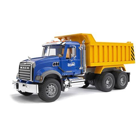 mack granite dump truck go bananas toys