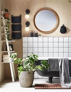 Miroir Rond Salle De Bain : voici les plus jolis miroirs de salle de bains elle ~ Nature-et-papiers.com Idées de Décoration