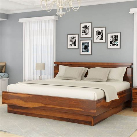 Wooden Bed Platform by Modern Simplicity Solid Wood Size Platform Bed