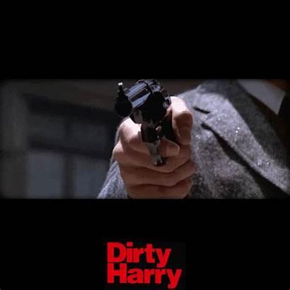 Clint Eastwood Dirty Harry Gifs Geweer Filmsterren