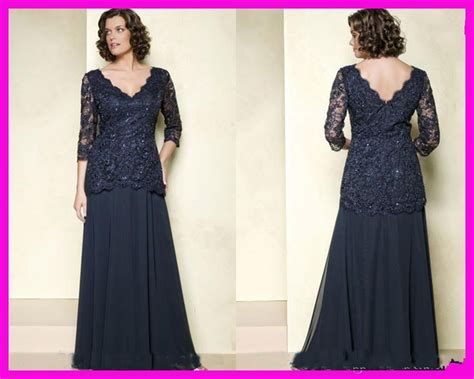 Mother Of The Bride Dresses : V Neck Chiffon Black Plus Size Mother Of The Bride Lace