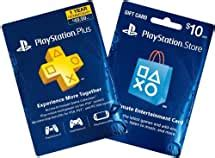 With playstation plus subscription you will be able to get the most out of your ps4 experience. Amazon.com: 1-Year PS Plus + $10 PS Gift Card - PS3 / PS4 Digital Code: Video Games