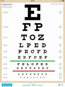 eye chart pro test vision and visual acuity better with With etdrs letters