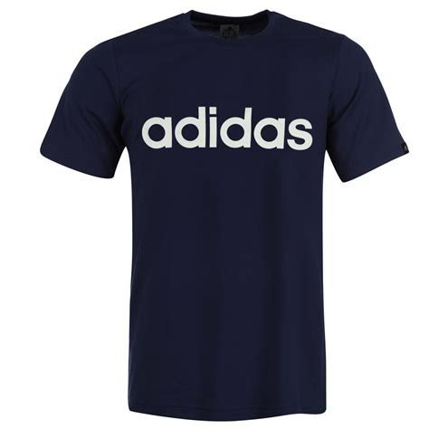 t shirt adidas adidas adidas linear logo t shirt mens mens t shirts
