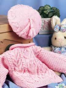 Free Pattern Knit Baby Sweater Set