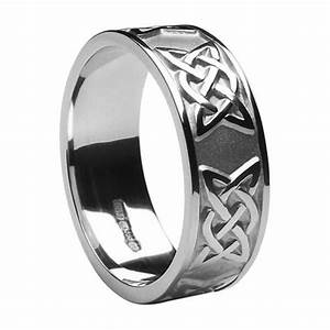 Mens celtic wedding rings ms wed295 for Celtic wedding rings for men