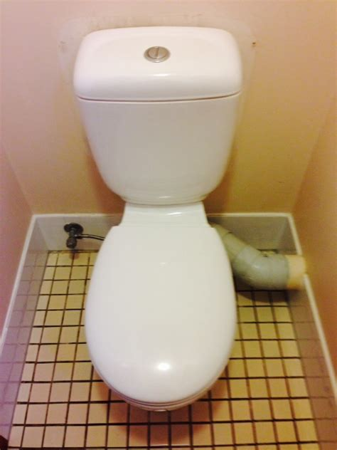 how to convert a skew pan toilet waste