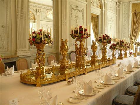 Hôtel de Charost JP2010 Dorure salle à manger Surtout