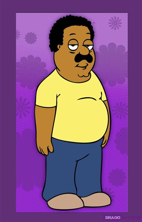 Scow Brow by How To Draw Cleveland Brown From The Cleveland Show Step