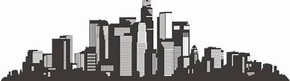 Building Vector Silhouette Skyline Clipart Library Clip