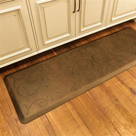 Large Decorative Kitchen Floor Mats by Kitchen Gel Kitchen Mats For Comfort Creating The