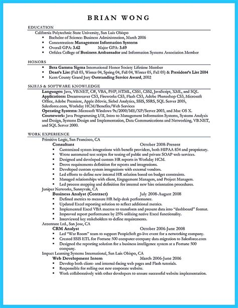 Of Resume by Make The Most Magnificent Business Manager Resume For