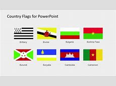 Country Flags Clipart for PowerPoint B to C SlideModel