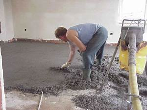 epaisseur dalle beton pour garage 6 couler une chape With couler dalle beton garage