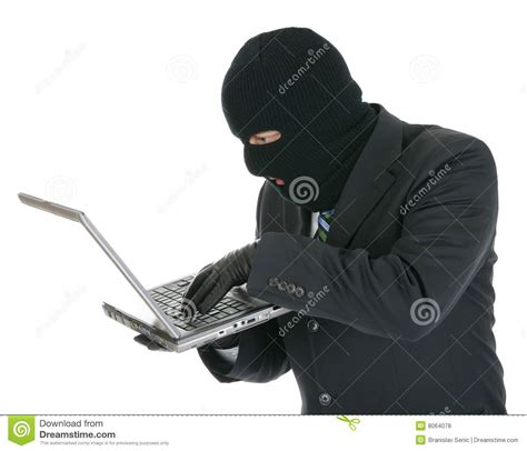 computer hacker criminal   laptop royalty