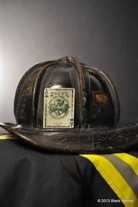 Lucky club firefighters helmet decal black helmet for Fire helmet name lettering