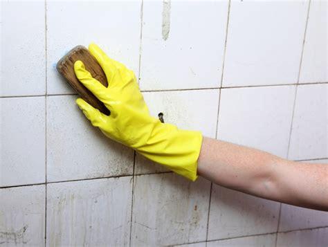 clean bathroom tiles methods  tips ideas