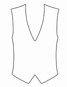 vest pattern use the printable outline for crafts With vest top template