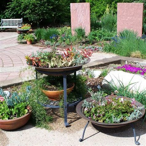 deck gardening containers mountain gardening a colorful patio container garden