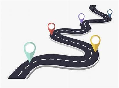 Road Winding Cartoons Map Transparent Roadmap Clipart