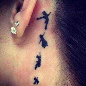 Peter Pan behind the ear #TATTOO #art | 2wear | Pinterest ...
